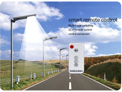 Solar Pole Lights 30W - 3500 Lumens High-end Integrated Solar Post Lighting System