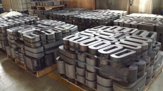 Silicon steel scrap transformer core