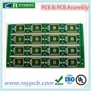 Black color coating 1.6mm Aluminum pcb for led assembly
