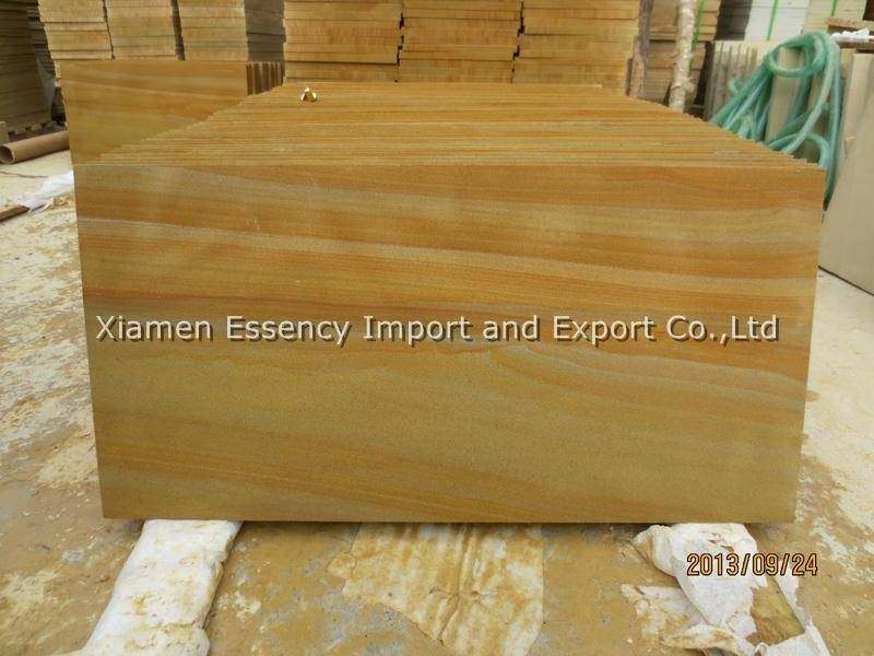 Chinese Wooden Yellow Sandstone