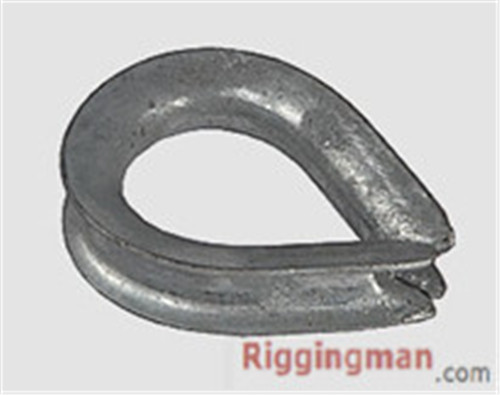 Rigging Hardware BS464 WIRE ROPE THIMBLE,
