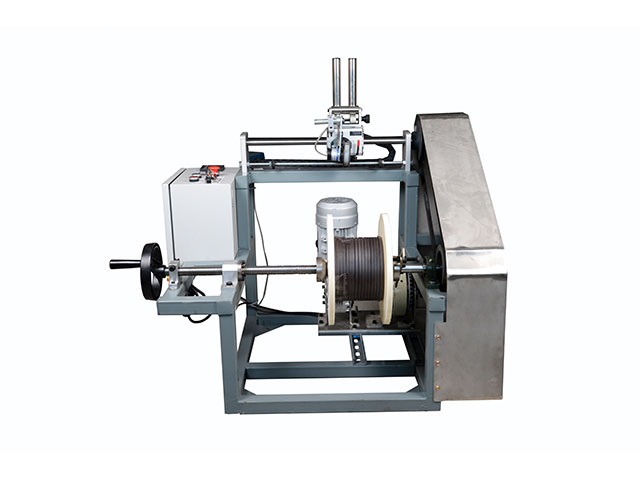 wire take up and payoff machine with meter counter copper wire winding machine