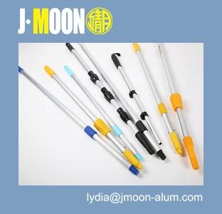 Aluminum telescopic role/rod