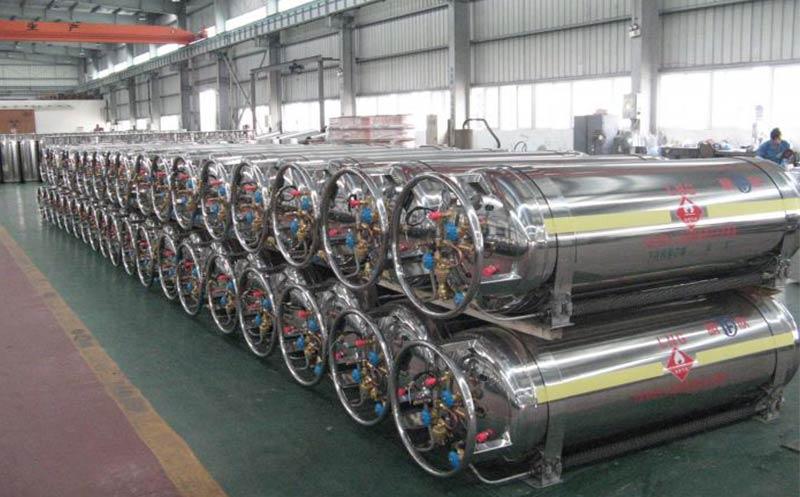LNG Vehicle Cylinder