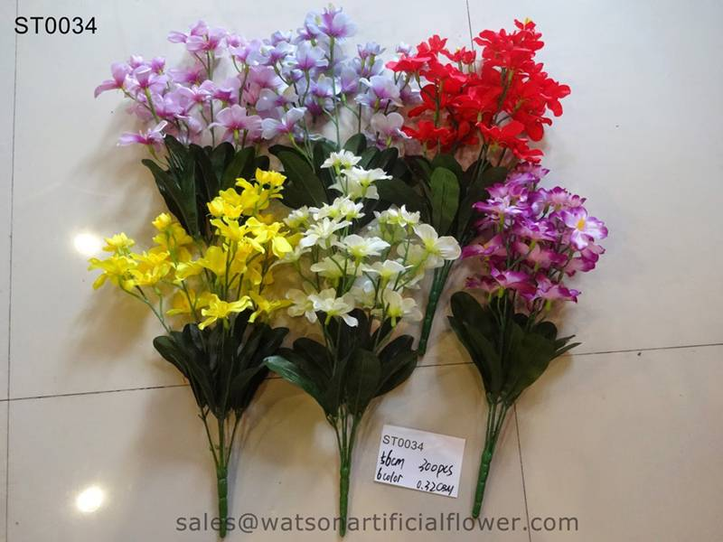 cheap artificial flower bushes