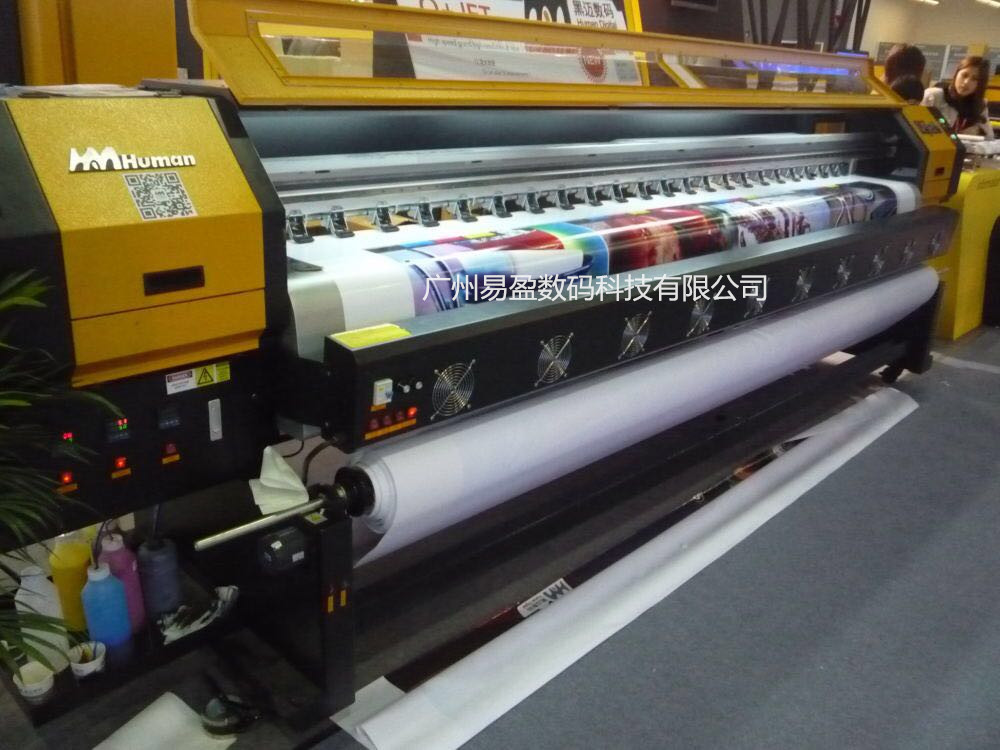 Best Selling Digital High Speed Outdoor advertising Inkjet Printer for multi material