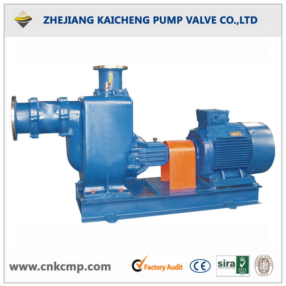Horizontal Non-clogging self priming sewage pump