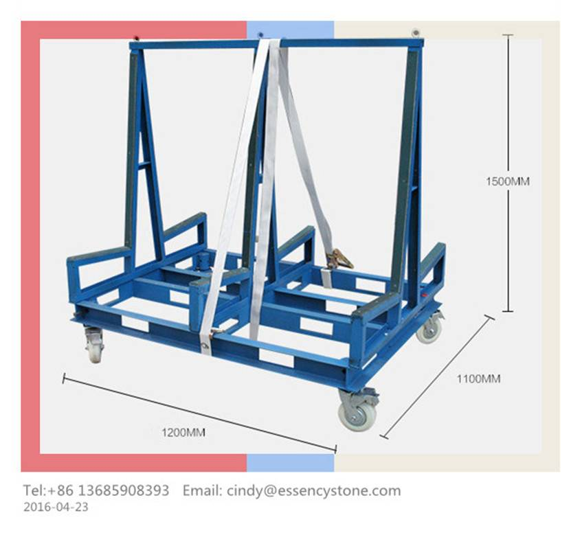 Double Sided Slab Buggy & Stone Cart