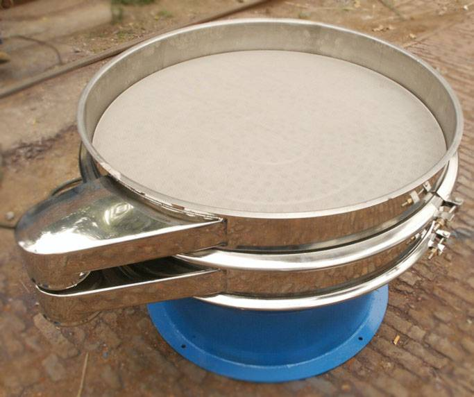 1-5 sieve decks stainless steel vibrating screen with 2-500mesh(10mm-0.025mm) sieve mesh