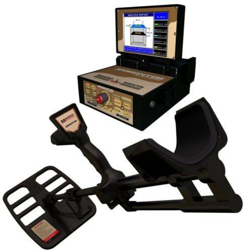 JEOHUNTER BASIC SYSTEM 3D MAKRO GEORADAR GPR METAL DETECTOR GROUND PENETRATING