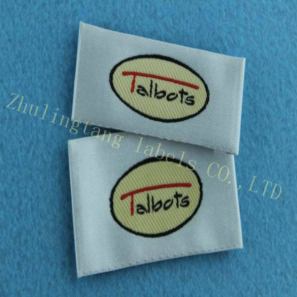 2014 hot sale woven label&tag size label for garment