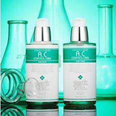 A.C CONTROL CARE SKINTONER & EMULSION BY SWANICOCO KOREA COSMETICS
