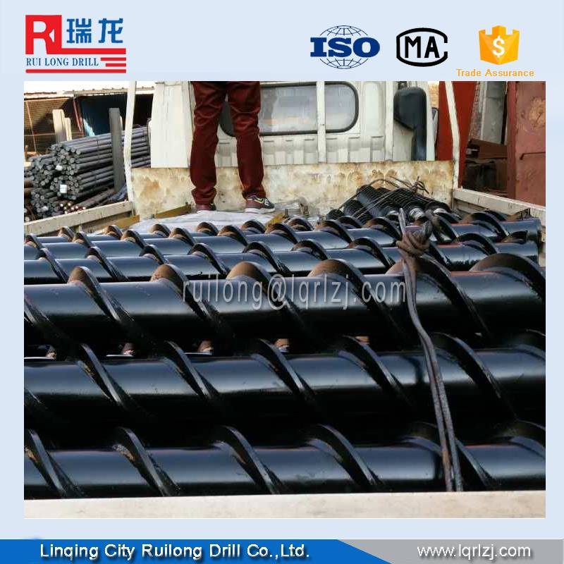 twist drill rod/spiral drill rod China factory