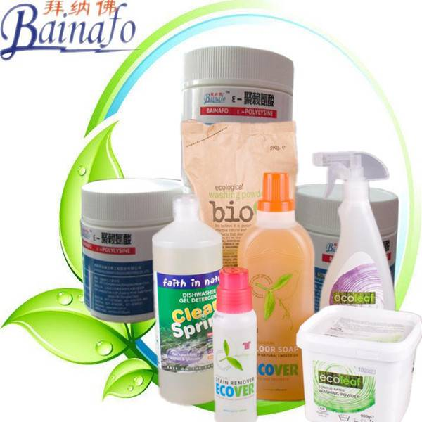 best organic cleaning products Preservatives e polylysine