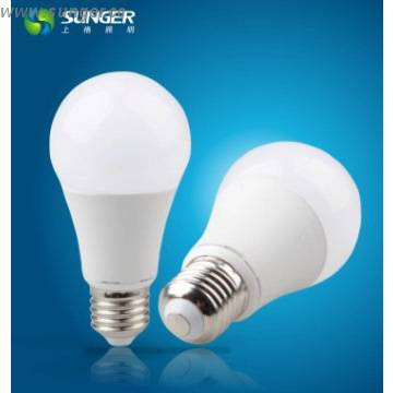 Sales well 10W A60 E27base LED bulb light with CE and RoHS in factory
