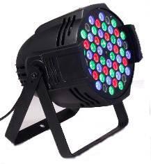 54pcs*3W RGBW IP20 LED Wash Light with 8CH