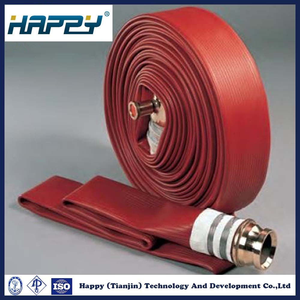 Rubber Covered Water Delivery Hose Fire Fighting Hose