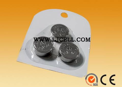 1.5V Alkaline manganese dioxide button cell LR44  170mah