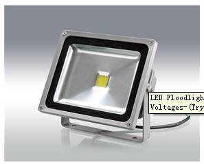LED Floodlight with 20W Power 85 to 265V AC Voltages-(Trysun-Fl20w)