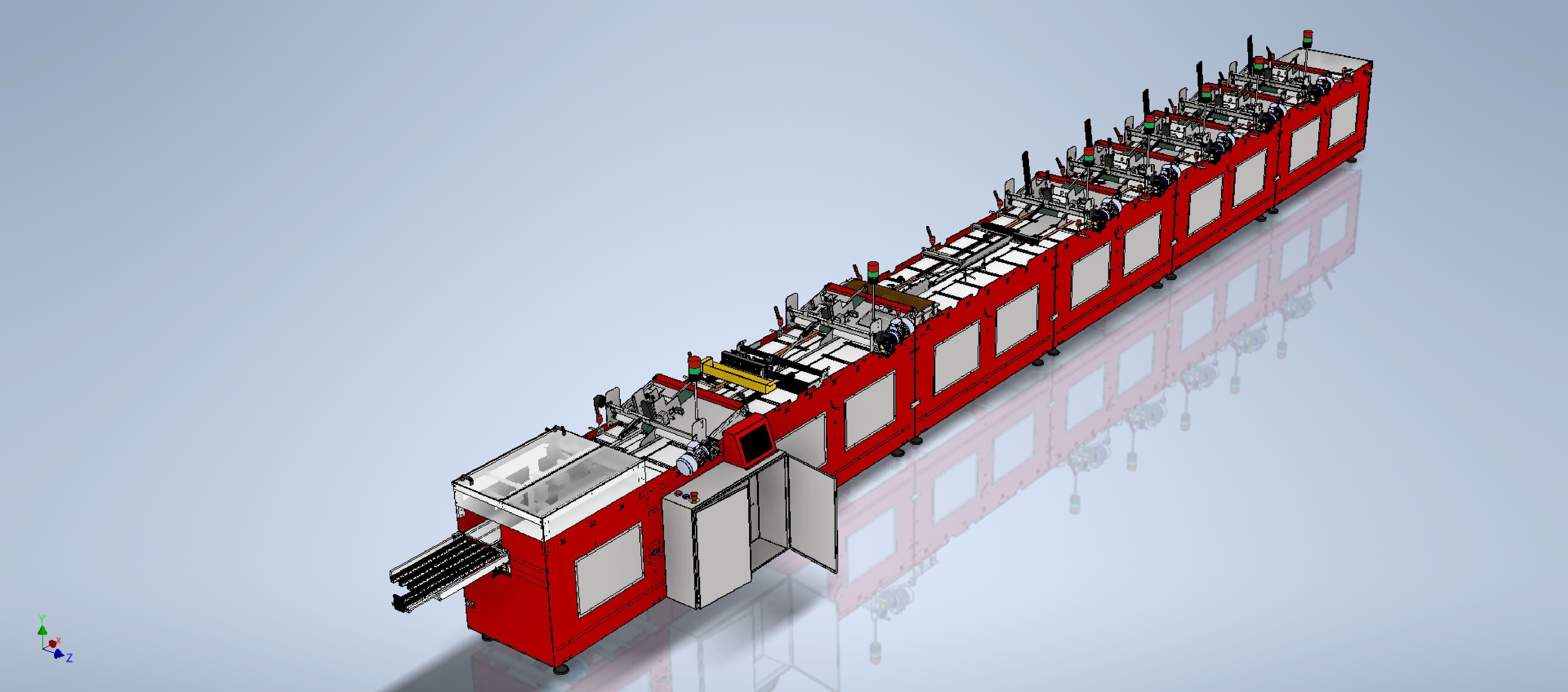 Happy Tech Co production line
