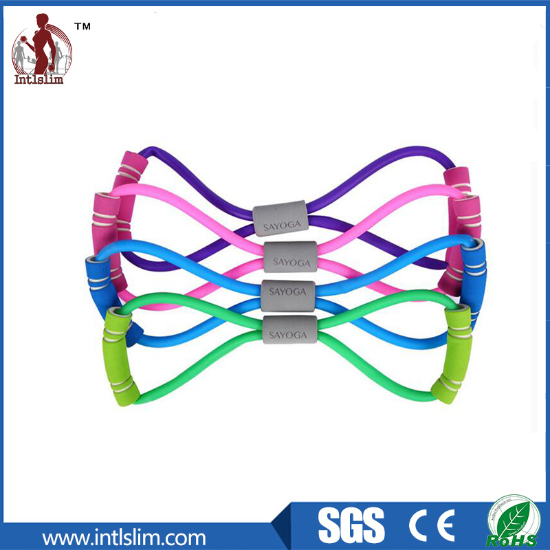 Crossfit Fitness Latex Elastic Chest Expander Manufacturer