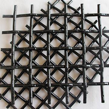 Lock crimp woven wire screen media in America market made in China for mining quarry aggregate
