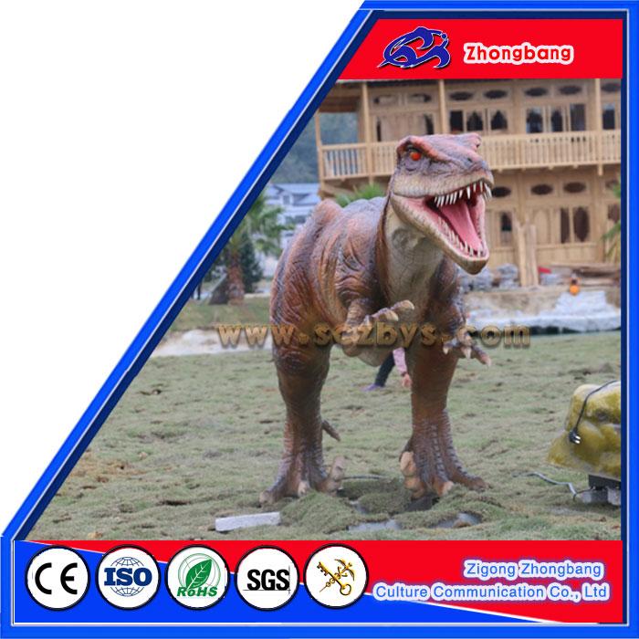 Realistic Life Size Robotic Dinosaur