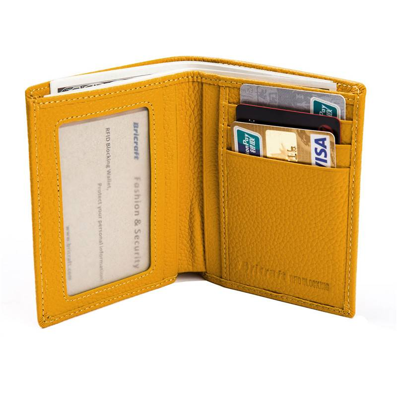 2016 Top 10 wallet brands fashion RFID leather purse for ladies wallet