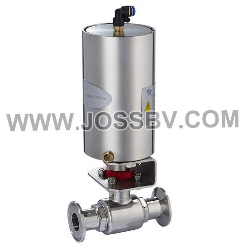 Sanitary Penumatic 2-way Ball Valve