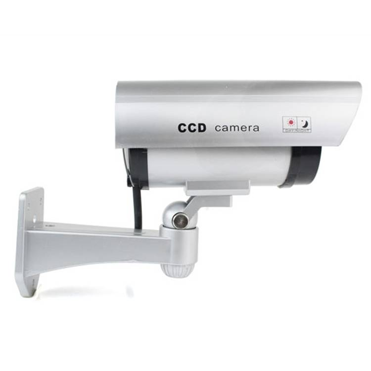 Security battery operated Wireless Fake Dummy Bullet cctv Camera Waterproof Outdoor