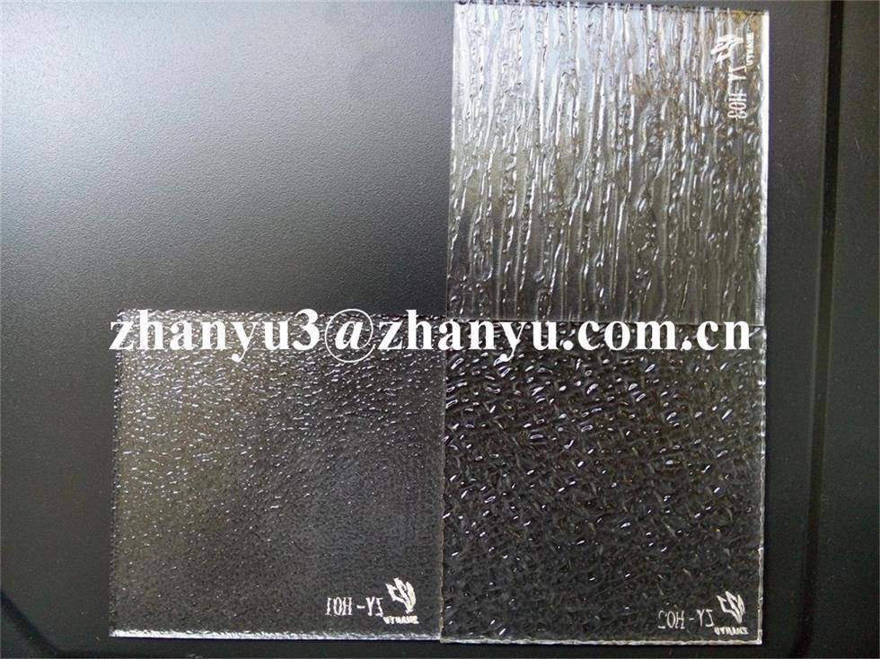 100% New Material Virgin Lucite Clear Cast Acrylic Surface Irregularities Sheet