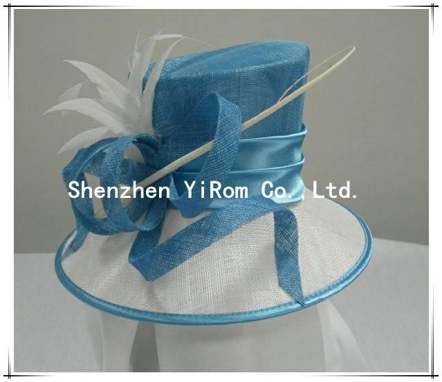 YRSM13062 sinamay hat,church hat, occasion hat, derby hat,race hat