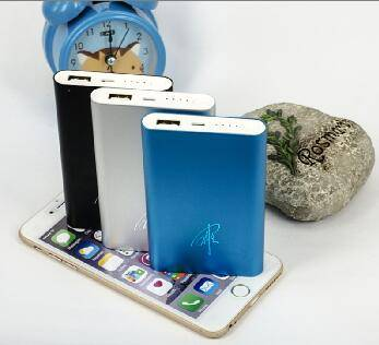 Super quality metal case mobile power bank 6000mAh portable mobile phone charg