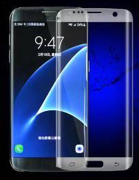 Full Screen Coverage Premium HD Ultra Clear Film Anti-Bubble Protective Guard for Samsung s7 edge
