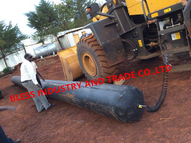 pneumatic rubber balloon/rubber balloon used for concrete culvert making