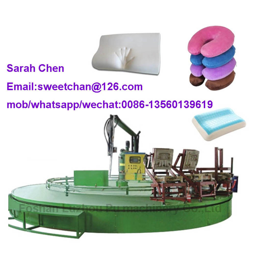 PLC controlled PU foaming production line