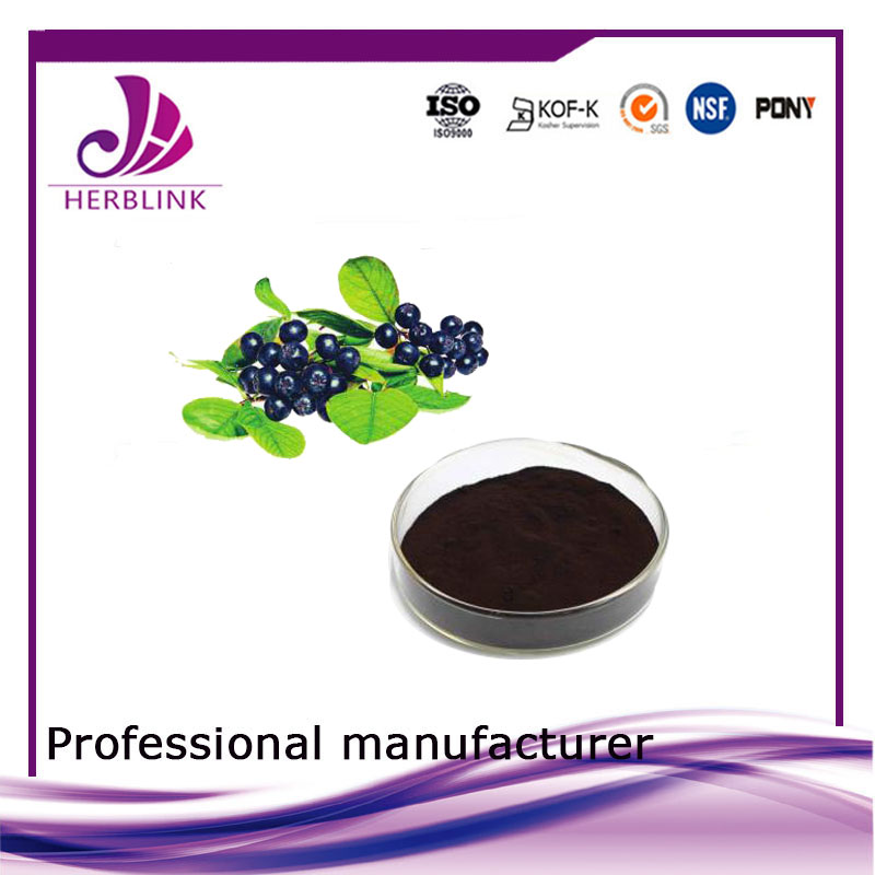 Black chokeberry extract