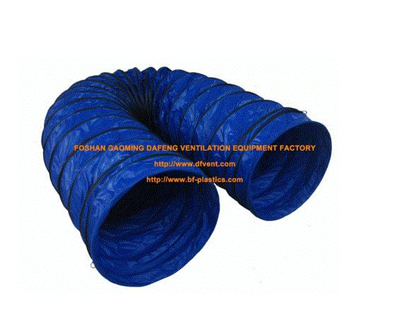 plastic fire retardant flex ventilation duct