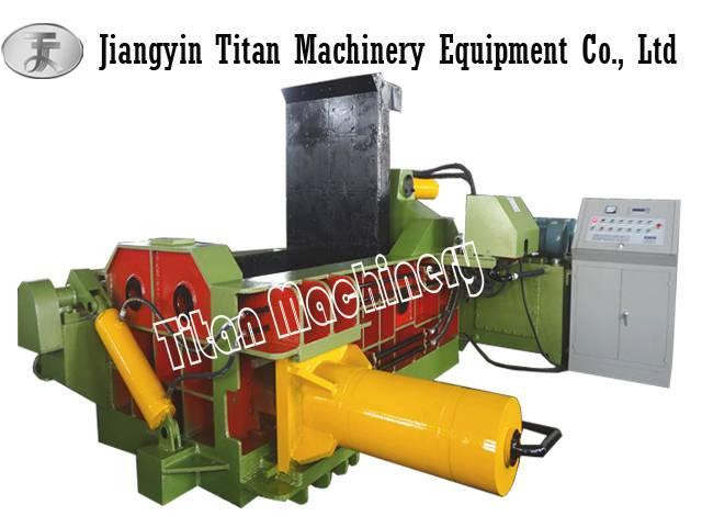 waste car baler baling press machine