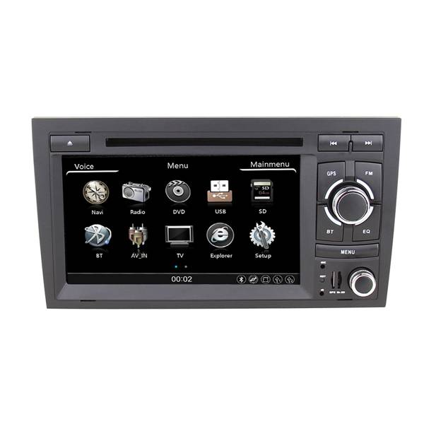 Car DVD GPS for Audi A4 2002-2008 with BT Ipod