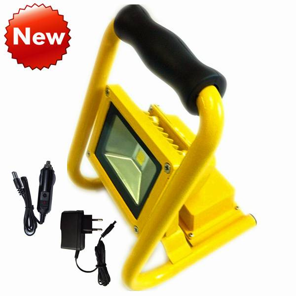 2014 New Rechargeable Portable LED Flood Light 10W