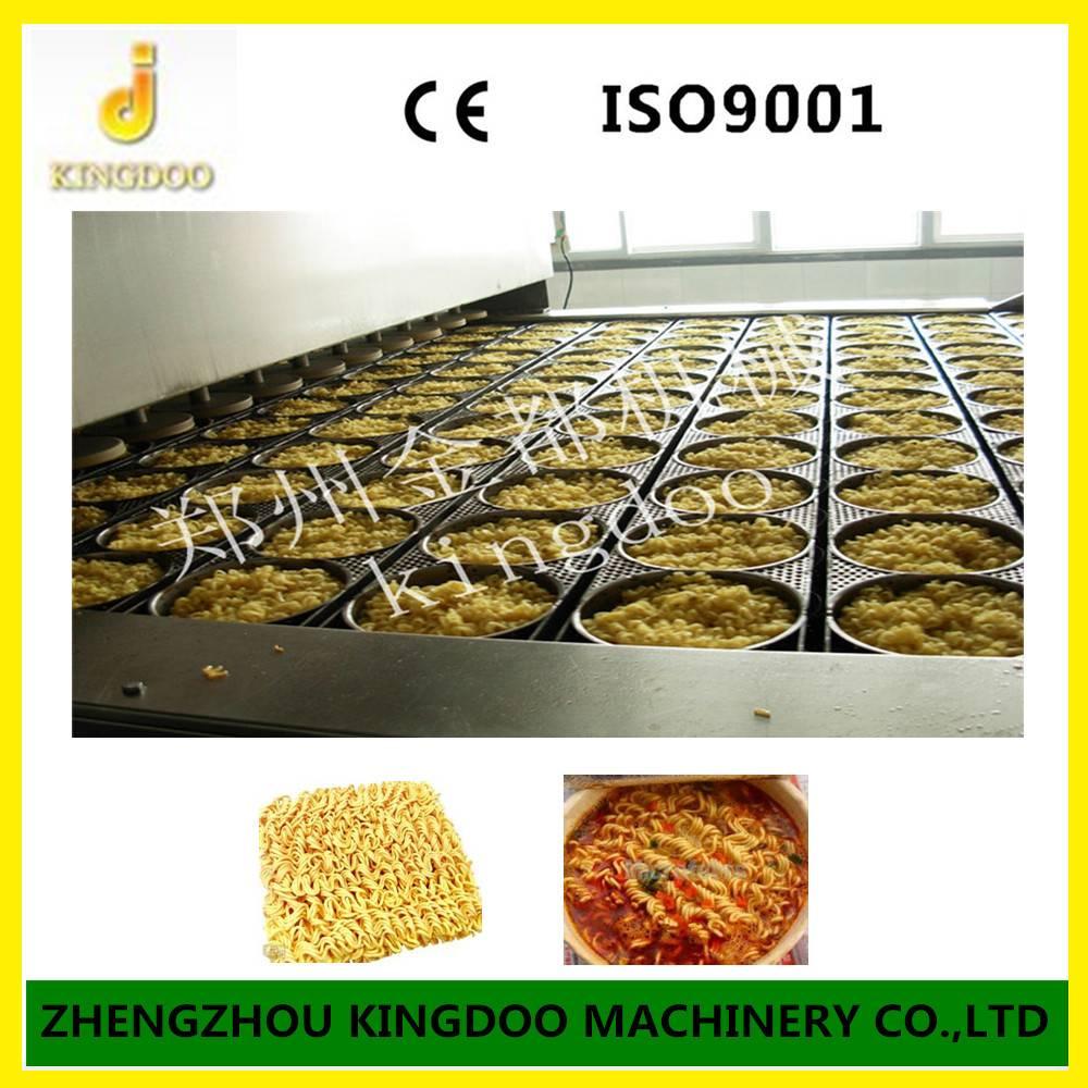 Commercial High Efficient Fried instant noodle Machine