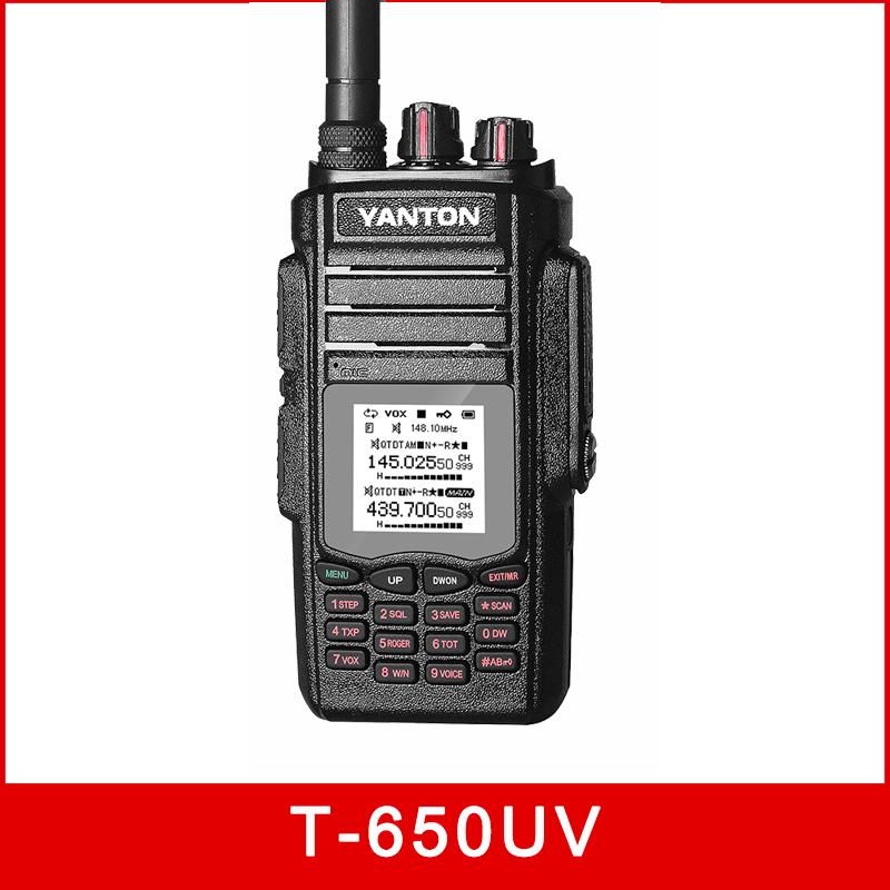 Dual Band 999channels 10w sos T-650UV FM Transceiver