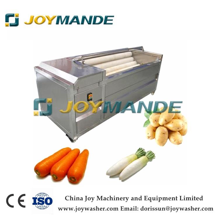 Industrial Potato Washing And Peeling Machine Potato Washer And Peeler