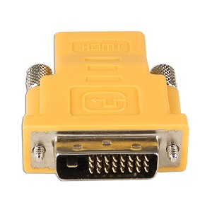 DVI-D Dual-Link (M) to HDMI (F) Adapter