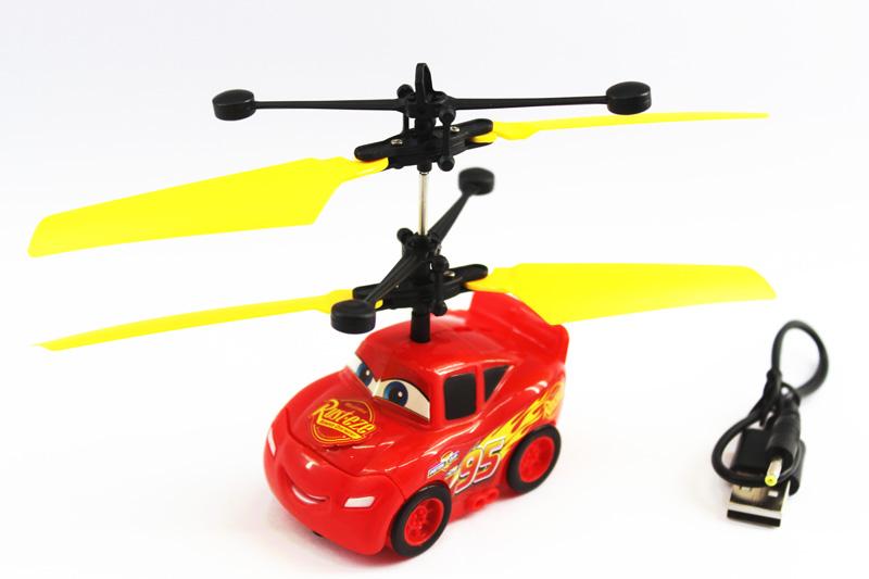 hand sensor induction flying car toy