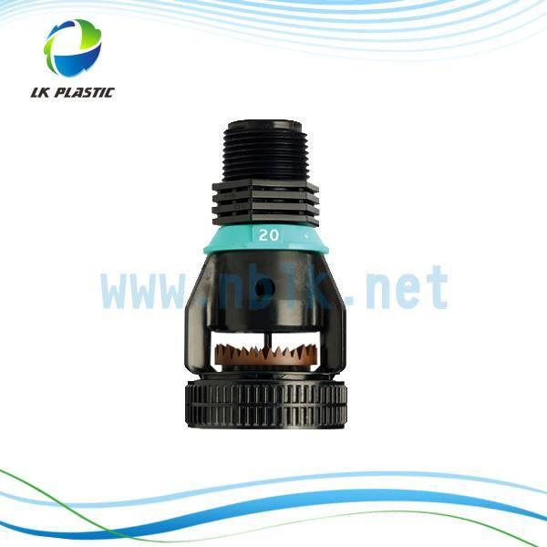 Off-center rotary&High-angle Plastic Wobbler Sprinkler.