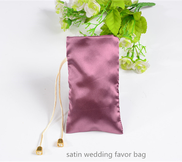 satin pouch bag