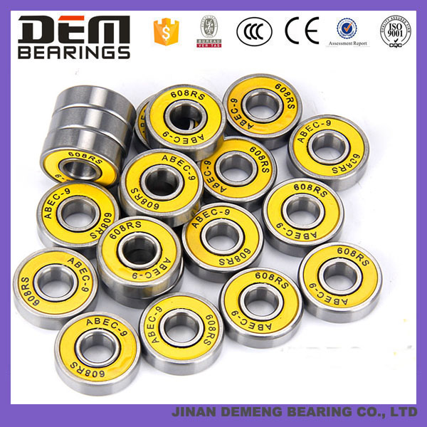 Low Noise skateboard Bearing Carbon Steel Bearing 608ZZ
