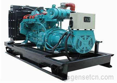 10kw-130kw Cummins Gas Generator Set